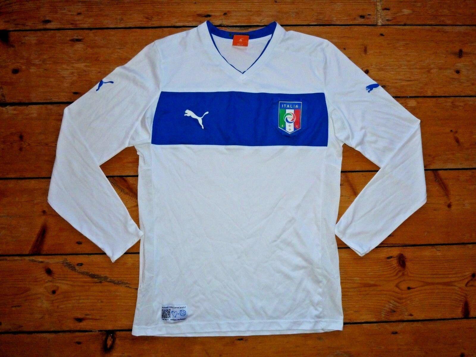Medium ITALY FOOTBALL SHIRT ITALIA 2012 Soccer JERSEY CAMISETA MAGLlA TRIKOT