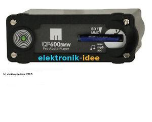 BMW-MP3-Player-ersetzt-CD-Wechsler-CP600BMW-fuer-E38