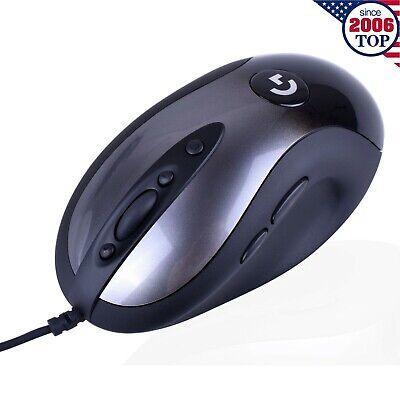 New 2018 Logitech MX518 Legendary Hero 16K Sensor 16000DPI 8-Button Gaming  Mouse | eBay