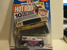 Hot Wheels Target Exclusive Editors Choice Purple Anglia Panel w/Real Riders