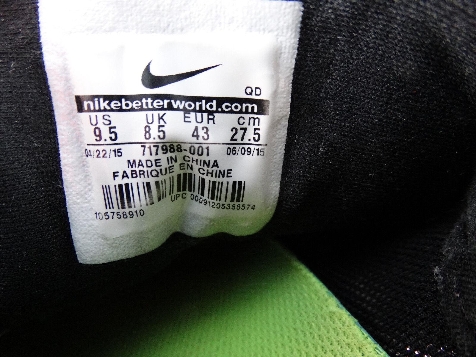 Nike Free 4.0 US V5 Laufschuhe 717988-001 schwarz-grau-weiß EU 43 US 4.0 9,5 93efd6