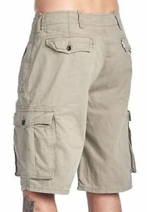LEVI-039-S-MEN-039-S-ACE-CARGO-TWILL-COTTON-SHORTS-RELAXED-FIT-TRUNKS-BEIGE