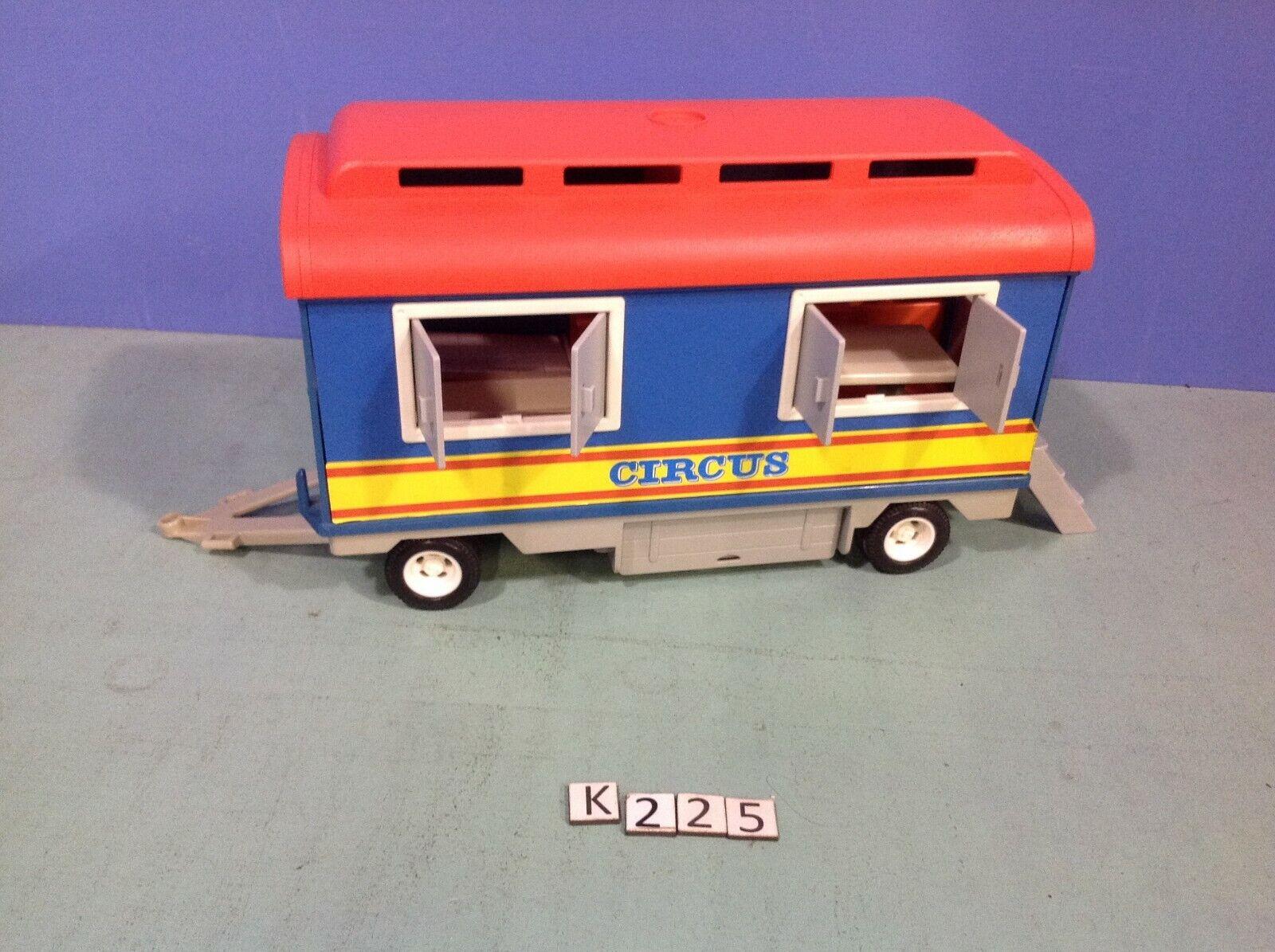 (K225)  playmobil remorque clowns cirque Circus 3477 3514 3510 3553 3720 4230  gli ultimi modelli