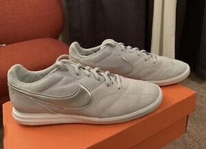 Indoor-Nike-Premier-II-Sala-AV3153-002-Shoes-Pure-Platinum-Silver-Size-8-5