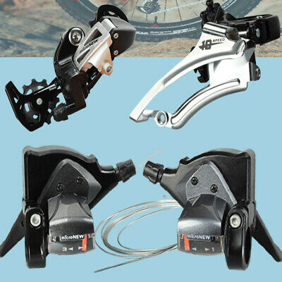 7//8//9//10//11 Speed Thumb Gear Shifters Shift Lever Part for MTB Road Bicycle Bike