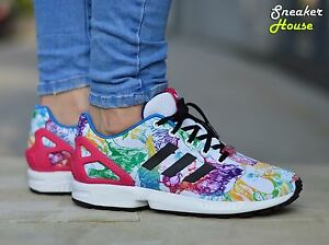 adidas zx flux j mujer