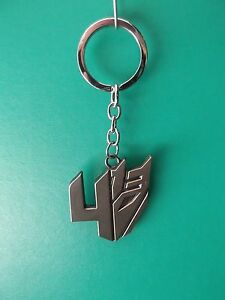 Transformers 4 Decepticons Logo Key Chain Good Quality