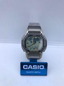 Casio ABX 20 TWINCEPT Bracelet Montre Module 1349 vintage