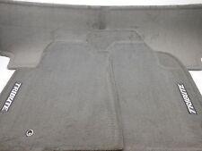 New OEM 2009-2011 Mazda Tribute Floor Mat Set 3 Piece Gray With Logo