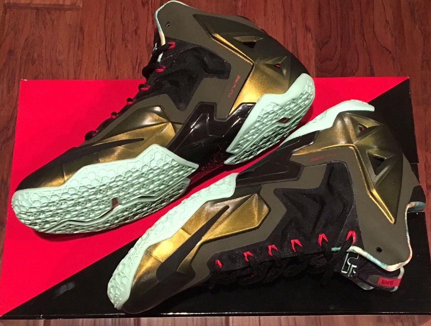 NEW Nike Lebron XI 11 King's Pride Men US Comfortable Seasonal clearance sale
