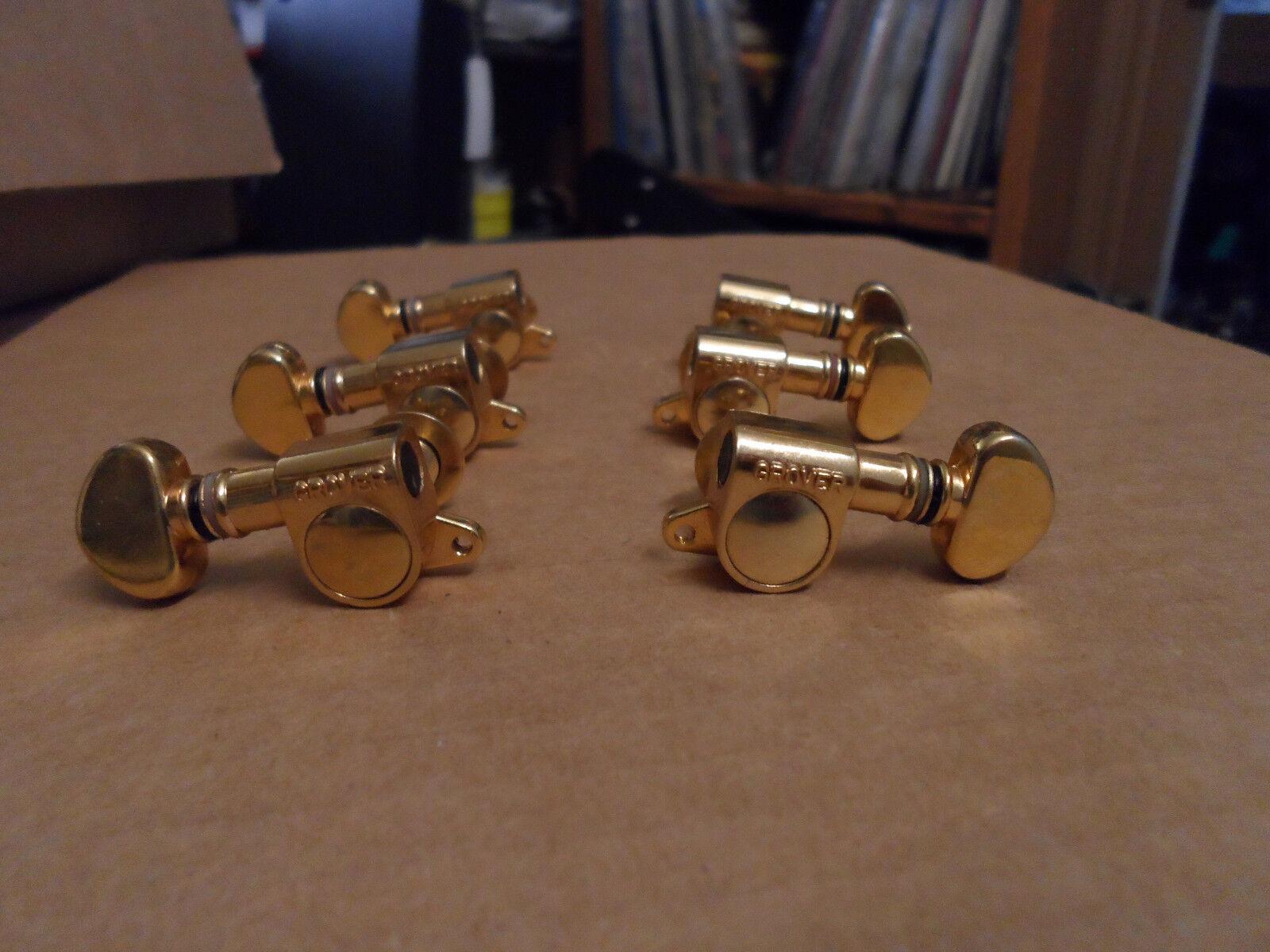 Vintage Grover Gold Tuner Set