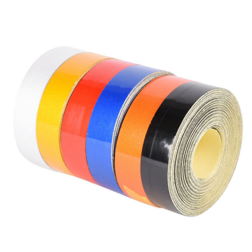 1cmx5m Car Truck Reflective Roll Tape Film Safety Warning Ornament Sticke ob