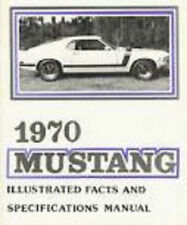 1970 MUSTANG//GT//MACH 1//FAIRLANE// SHOP MANUAL ON CD