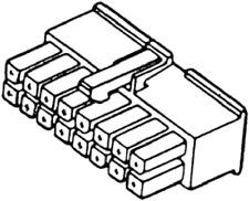 Molex 39-01-2160 Mini-Fit Jr Female Housing 16 Position Dual Row 4.20mm Pitch