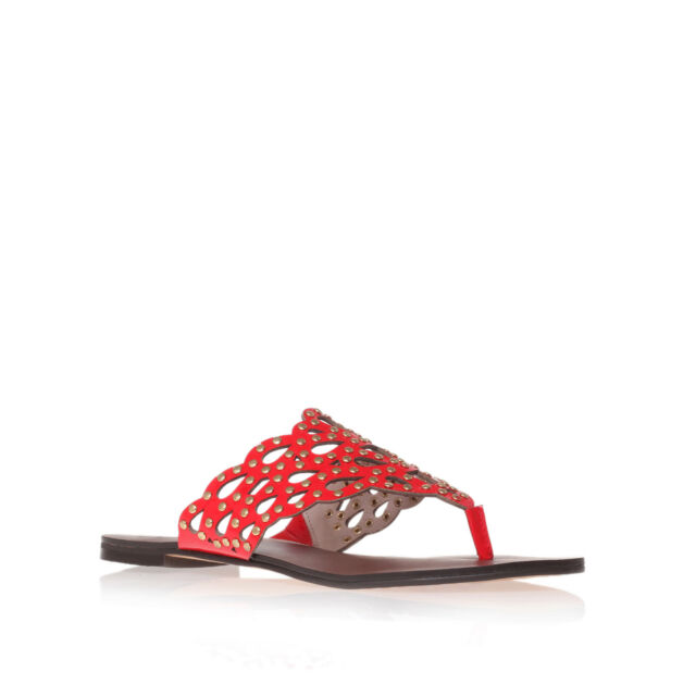 ELIAN VINCE CAMUTO PATENT RED WOMENS LADIES SHOE