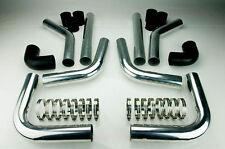 Ladeluftkühler Einbauset Kit Rohre Schläuche 2,5 Zoll 63,5mm Turbo A3 TT 1.8T s3