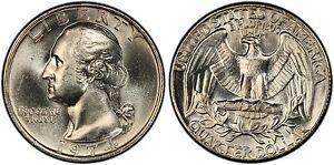 Quarter dollar 1974 монеты с 1992 года