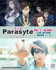 Dvd Anime Parasyte The Maxim Complete Series 1 26 Live Action Movie 1 2 New Ebay