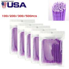 Dental Micro Applicators Brush Disposable Eyelash Tooth Applicators Sultrafine