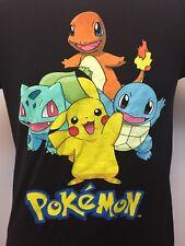 723bd416 item 1 Men's Pokemon Medium T Shirt Black M Pikachu Bulbasaur Charmander  Squirtle 2014 -Men's Pokemon Medium T Shirt Black M Pikachu Bulbasaur  Charmander ...