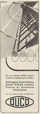 Z3209 Smalti Dulox Sintetici -  DUCO - Pubblicità d'epoca - 1939 Old advertising