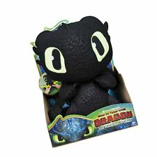 DreamWorks Dragons Squeeze /& Growl Toothless 10-Inch Plush with Sounds