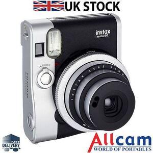 New Fuji Fujifilm Instax Mini 90 Instant Film Camera Retro Style Instant Camera