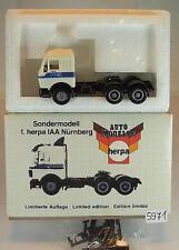 Herpa 1/87 811768 mercedes benz tractor colección 1. Herpa ΑΙΑ OVP #5971