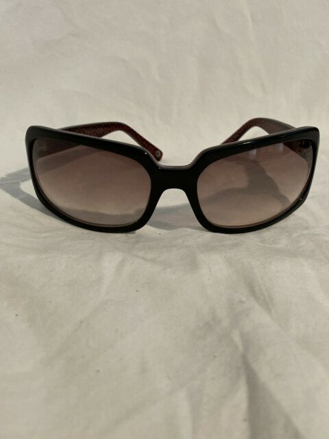 Coach Mia S433 Sunglasses Preowned Tortoise Rectangle for