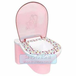 Zapf Creations Baby Born Doll Interactive Funny Toilet with Sound Toy - Pink
