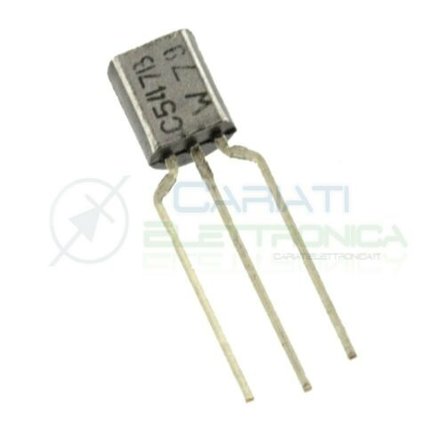10 Pieces bc547 NPN Transistor to92 45v 500mw 100ma 110 HFE