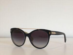 fc339716dc47 67 Dolce   Gabbana DG 4280 2955 8G Cat Eye Black Gray Sunglasses 57 ...
