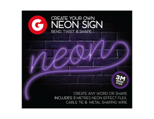 Make-Your-Own-Neon-Sign-Create-3M-String-Light-Message-Kit-Party-Birthday