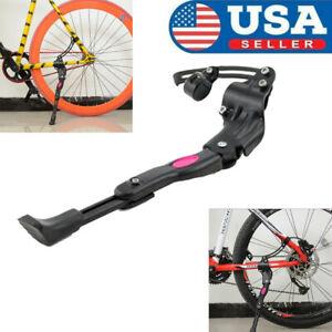 Adjustable Bike Side Kickstand Kick Stand Kit MTB Road Mountain Bicycle Cycling