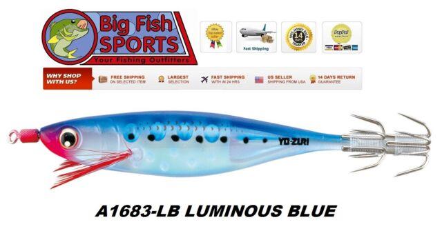 "Yo-Zuri A323-24 Green Squid Jig ULTRA Aurora Lure 4/"" Squid Bait Jigging"