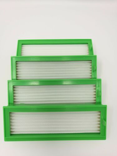 4 HEPA Allergie Filter passend für Vorwerk Kobold VR200