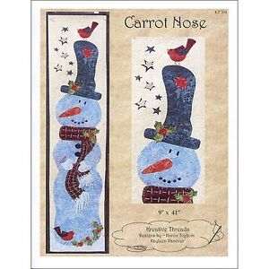 Carrot-Nose-Pattern-By-Kreative-Threads-Wall-Hanging-Snowman-9-034-x-41-034