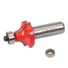 """1/2"""" Shank Round Over/Ovolo Cutter Router Bits 1 7/32"""" x 5/8"""" x R3/8"""" B3/8"""", 1/2"""