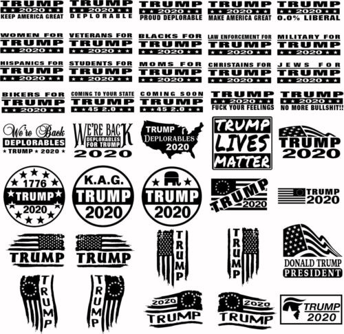 Trump 2020 Deplorable Tattered Flag 13 Stars left Betsy Ross KAG  Sticker Decal