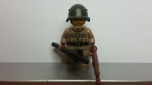 Lego WW2 RUSSIAN Soldier MINIFIG PRINTED High Quality NEW World War II