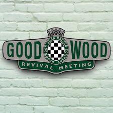 0,6 m GOODWOOD REVIVAL TRACK-MEETING HISTORISCH KLASSISCH AUTO SCHILD GARAGE