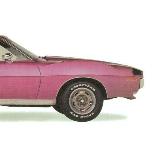 AMC Javelin AMX 1971 Vintage Poster Print Car Art Home Bar Decor Garage Art