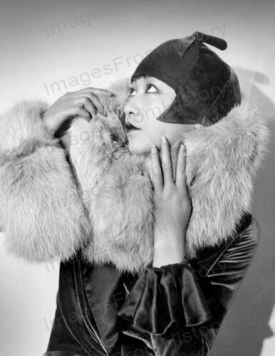 8x10 Print Anna May Wong Beautiful Fashion Portrait 1929 #AW13