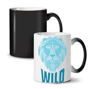 Lion Beast Wild Animal NEW Colour Changing Tea Coffee Mug 11 oz | Wellcoda
