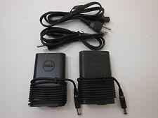 Lot of 2 Genuine Dell latitude Slim AC adapter e7240 e7440 XT3 14R 14Z XPS14 15R