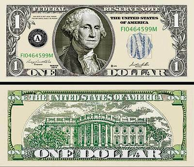 UnderDog Million Dollar Bill Fake Play Funny Money Novelty Note with FREE SLEEVE