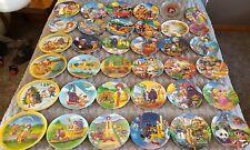 McDonald's Plate Set - 36 Plates - No Duplicates - 70s, 80s, 90s - McDonaldland!