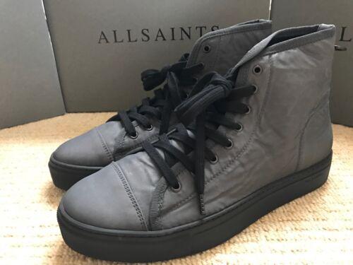 """Tout Homme SAINTS Anthracite /""""PURSUIT Hi Top/"""" Baskets Chaussures-UK 7 8 9 10 neuf box"""