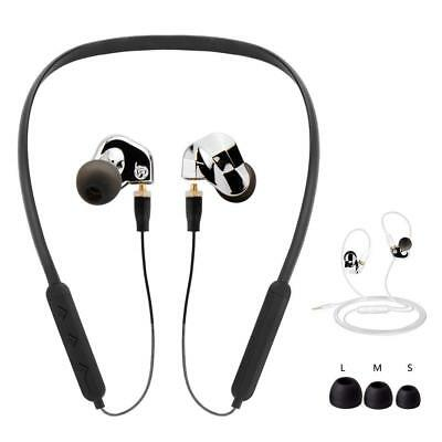 WIRELESS IPX4 Sports Bluetooth SLIM leggero Cuffie Cuffie AURICOLARE nTx8Iqgxv