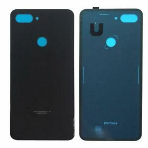 Per-il-Xiaomi-Mi-8-Lite-Cover-Retro-Batteria-Copertura-Posteriore-Vetro-Nero
